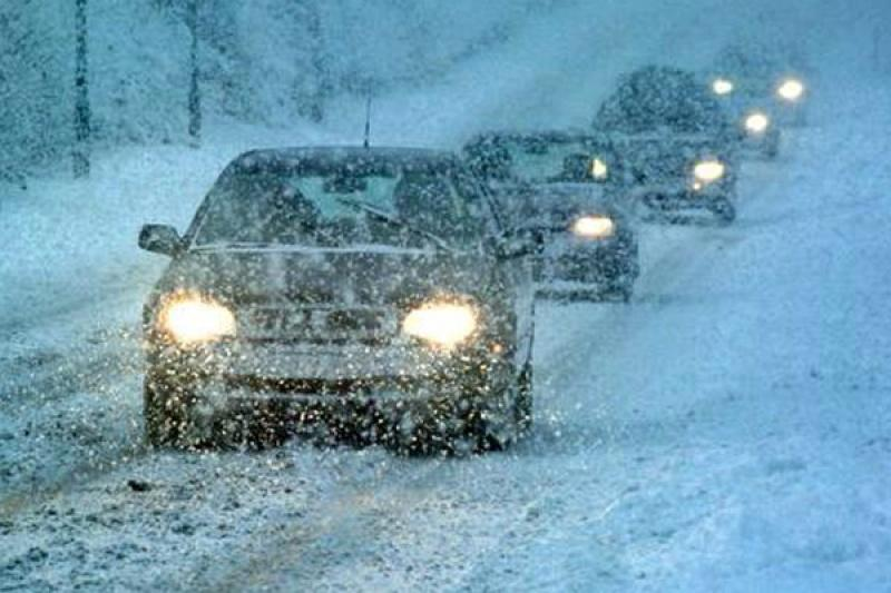 Ставрополье замело: на одной из трасс края из-за снегопада ограничено движение