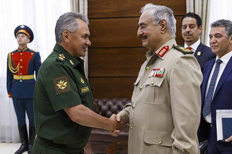 Шойгу и Хафтар обсудили ситуацию в Ливии