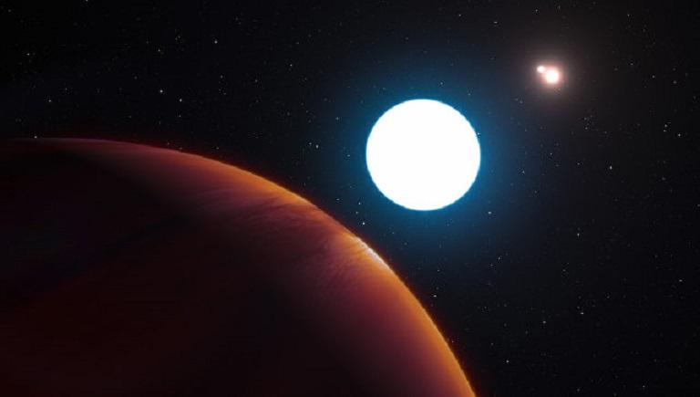 Планету с тремя солнцами обнаружили астрономы