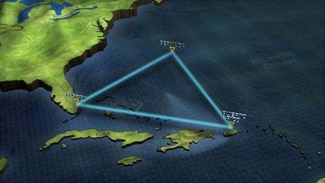 Ученые отыскали хрустальную пирамиду врайоне Бермудского треугольника
