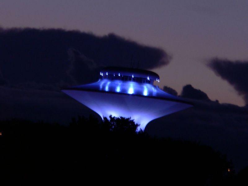 Летающие тарелки в небе над Нью-Джерси наблюдали 2 тысячи американцев