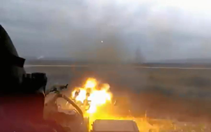 В итоге попытки «скрытной» атаки 57 машин бронетехники ВСУ Украины устранили ополченцы