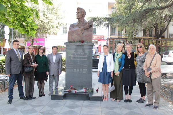 Американская делегация в Крыму