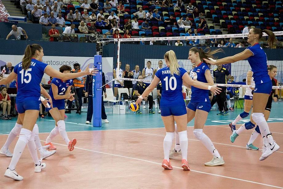 Чемпионат Европы по волейболу 2017, женщины: результаты матчей, расписание игр, турнирная таблица