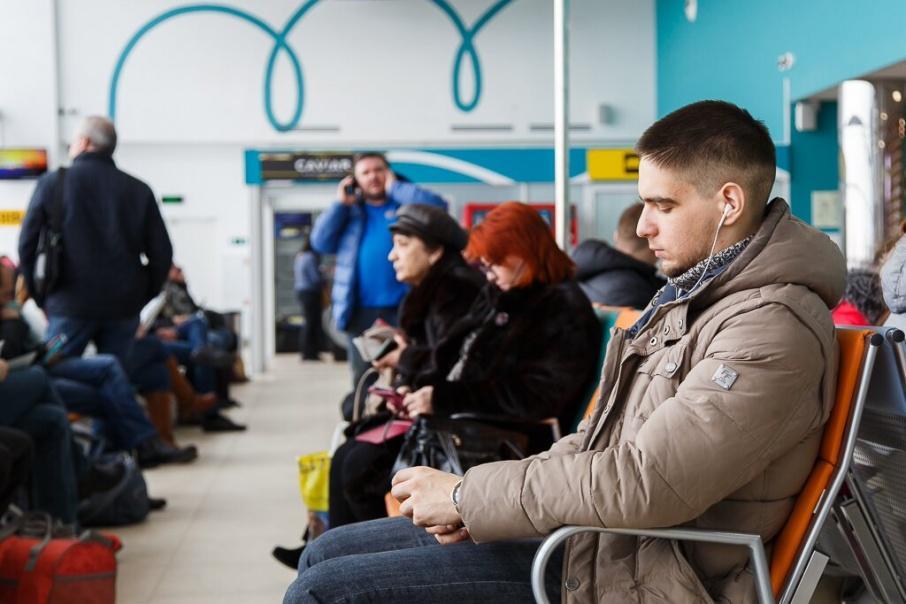 В аэропорту Волгограда