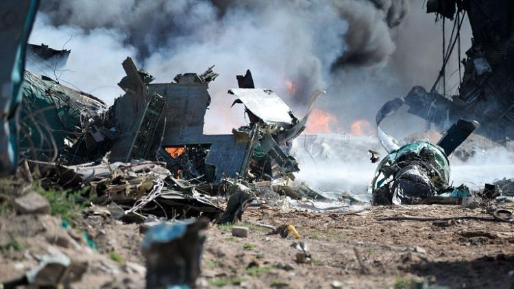 Крушение АН-26 в Сирии