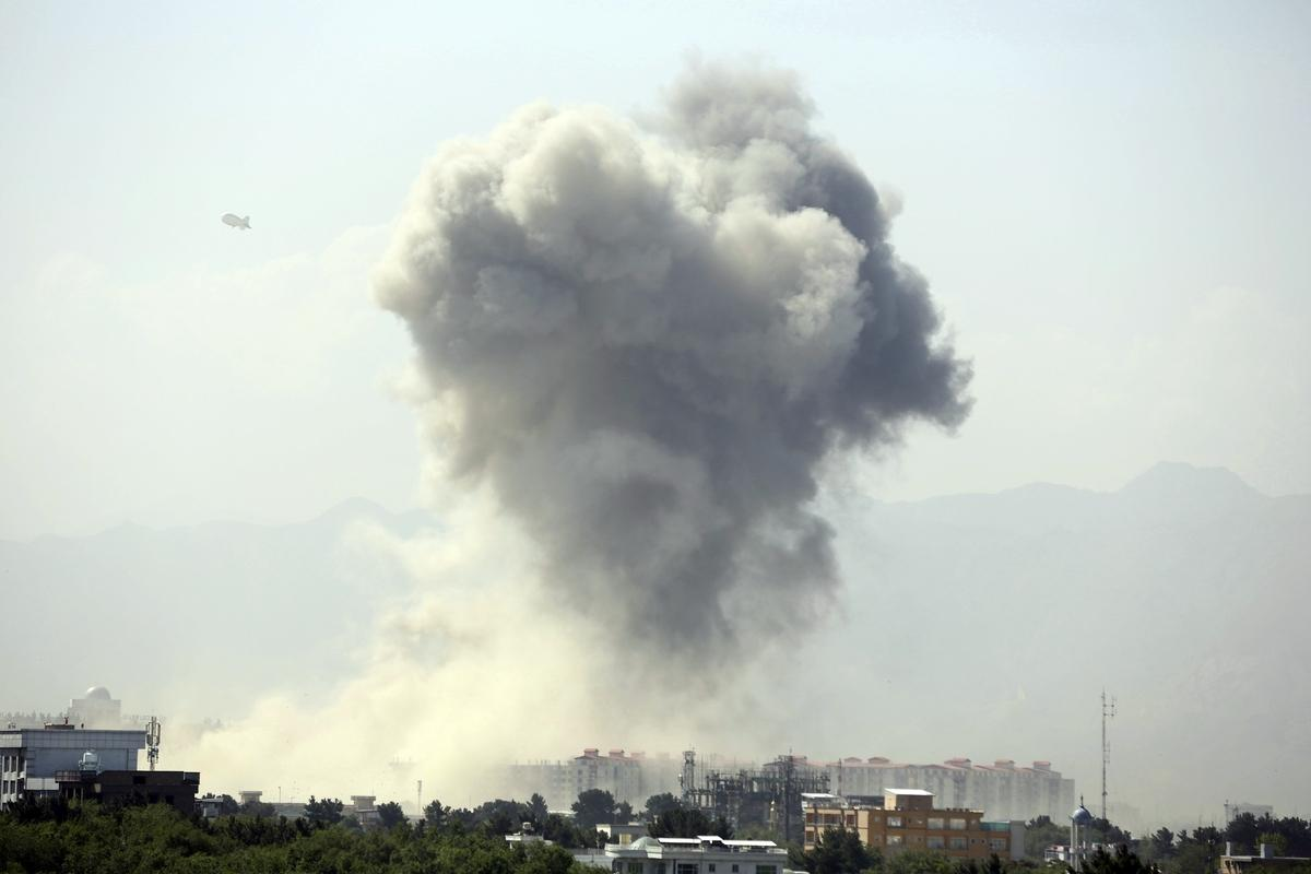 В столице Афганистана прогремел взрыв, погибли сорок человек