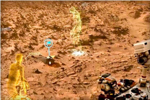 На Марсе в одном из кратеров замечен «японский герой» – НАСА