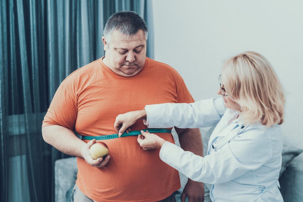 Минздрав назвал регионы с наибольшим числом людей с ожирением