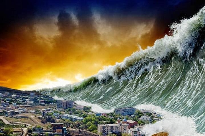 Вулкан Килауэа может вызвать цунами выстой в 300 метров и полностью уничтожить Гавайи