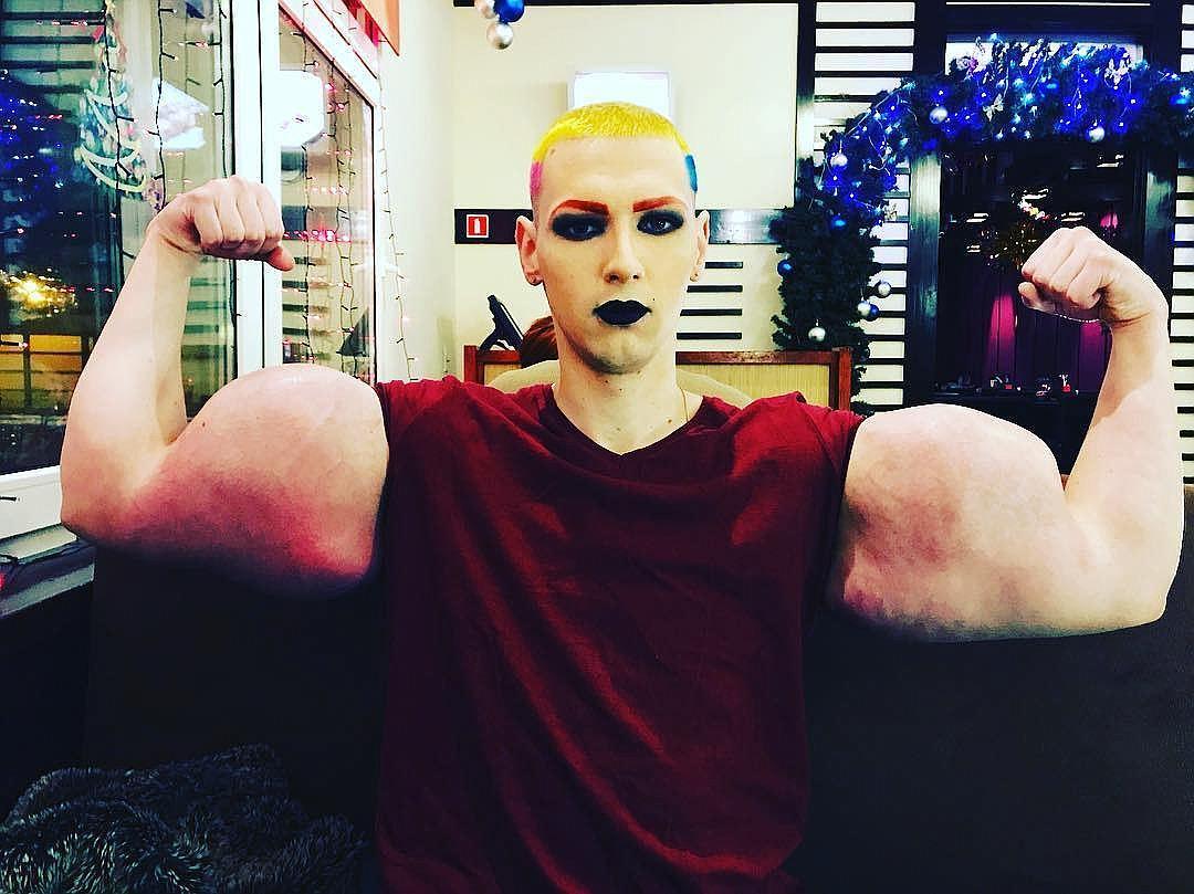 «Руки-базуки» Кирилл Терешин сделал новую «трансформацию» своего тела, поразив поклонников