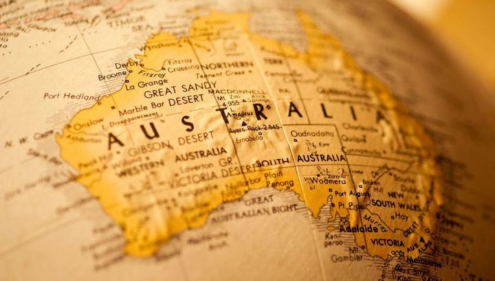 Австралийский континент сместился на 1.5 метра