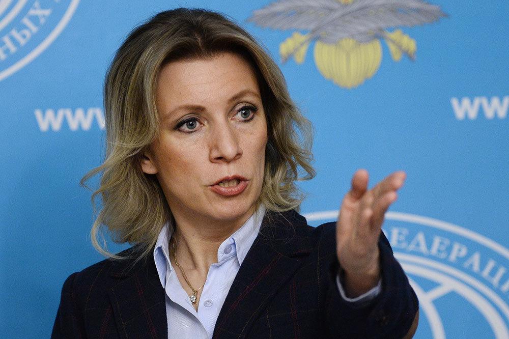 """Мария Захарова ответила на дерзкий выпад Пауэр в ее адрес, предложив узнать, что такое """"стыд"""" на самом деле"""