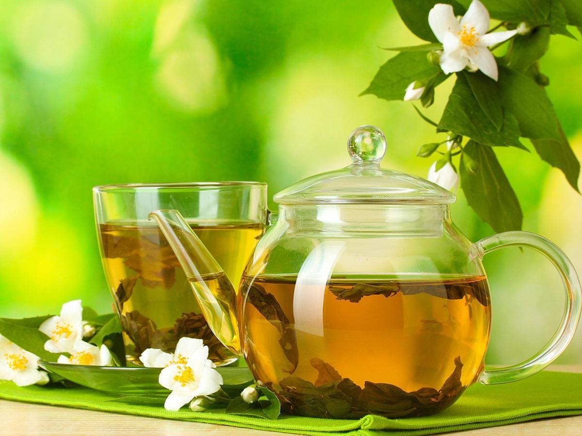 зеленый чай очищает организм