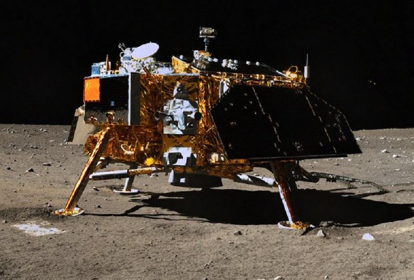 Инопланетные города на Луне зафиксировал китайский зонд «Чанъэ-3»