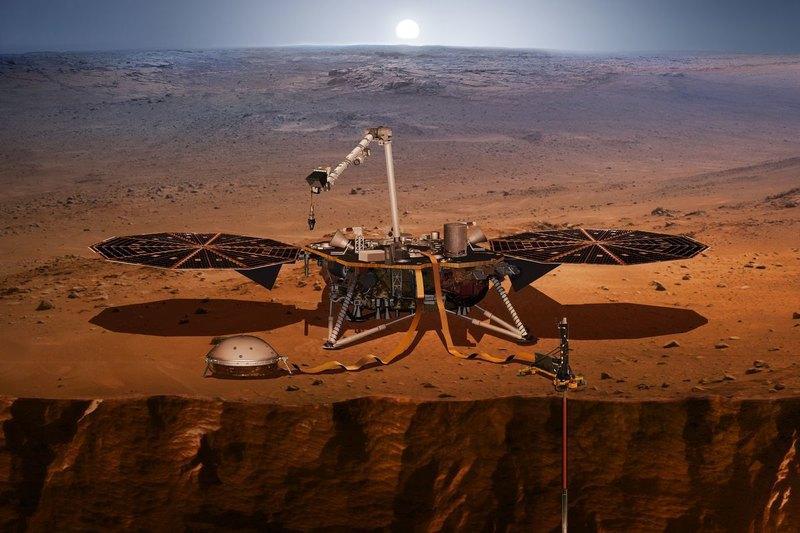 В недрах Марса находится что-то невероятно твердое: зонд InSight столкнулся с аномальной преградой