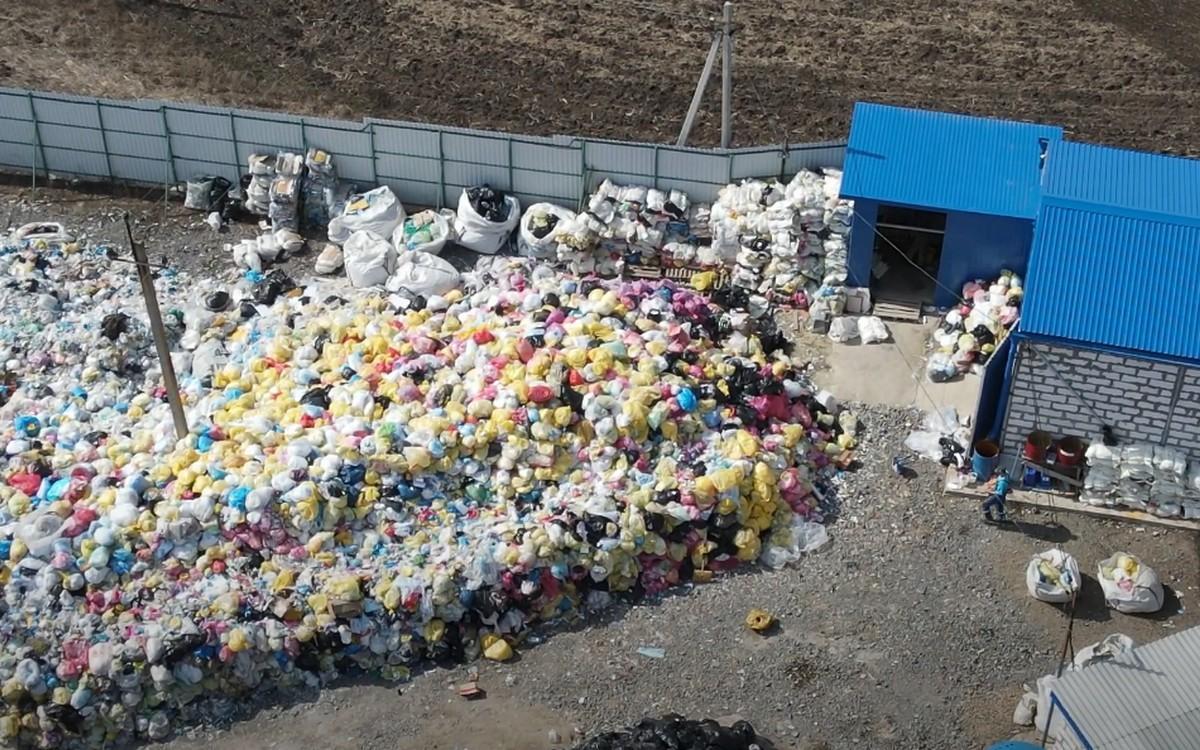 Пункт утилизации медотходов в Неклиновском районе Ростовской области