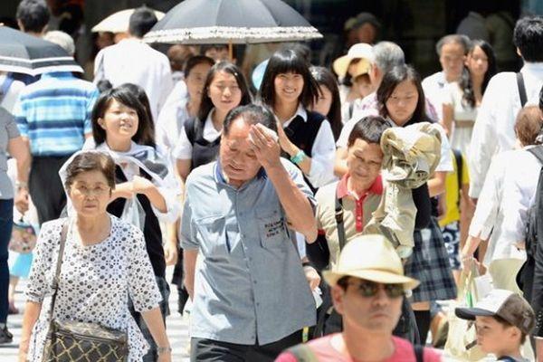 В Японии аномальная жара привела к гибели людей