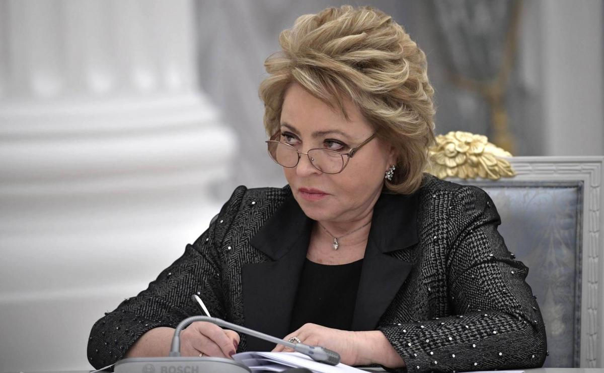 Валентина Матвиенко сенатор