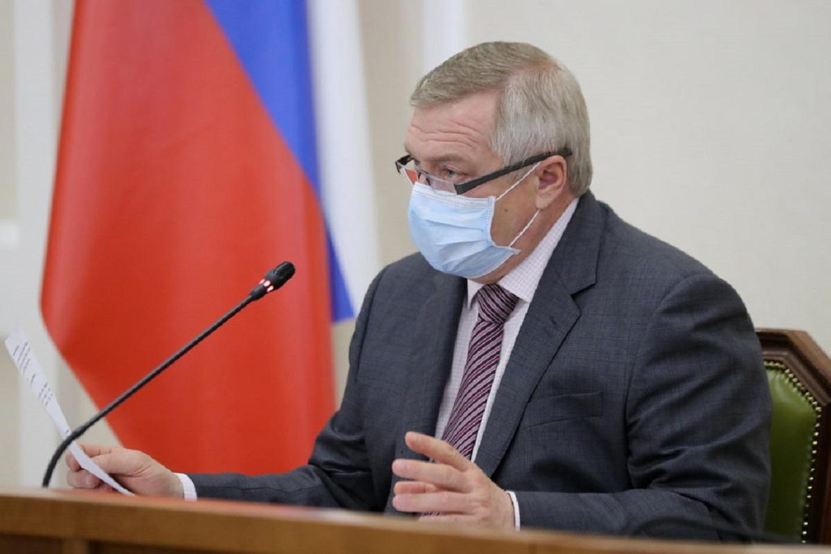 Василий Голубев борется с коронавирусом