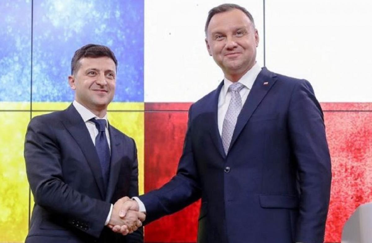 Украинский политик назвал «позором» визит Зеленского в Польшу