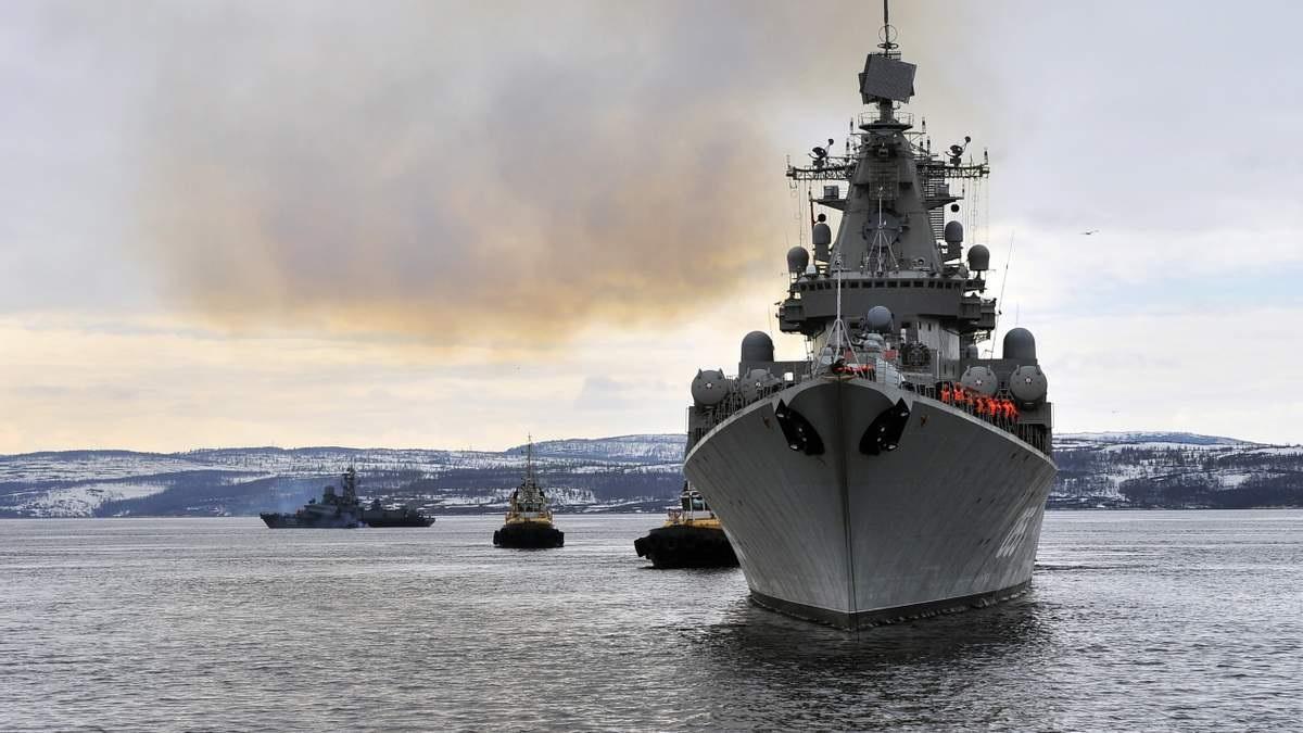 Польская газета: Россия готовится нанести удар по Украине с Черного моря