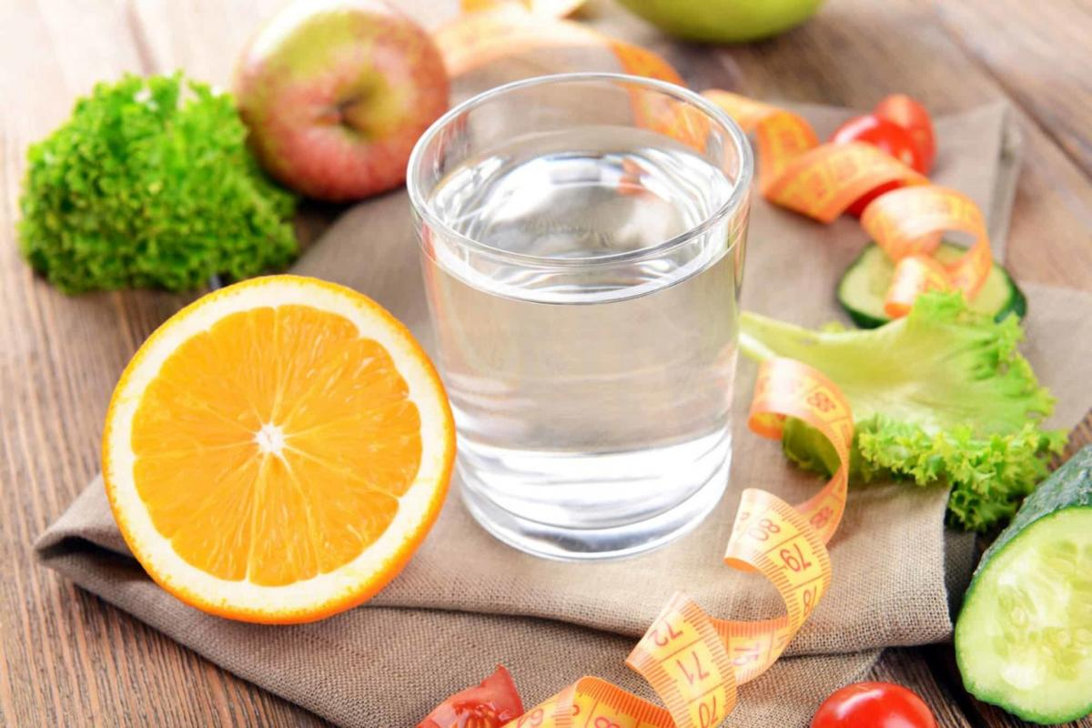 Вода в стакане