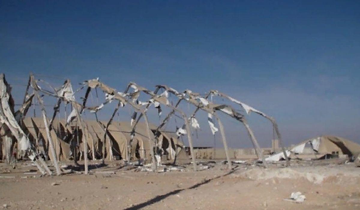 военная база США в Ираке после авиаудара