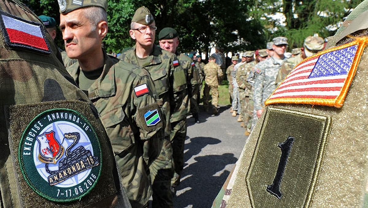 Польские и американские военные