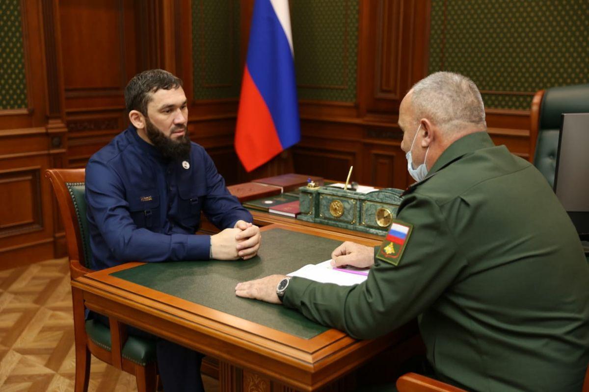 Магомед Даудов и Турпал-Али Есимбиев