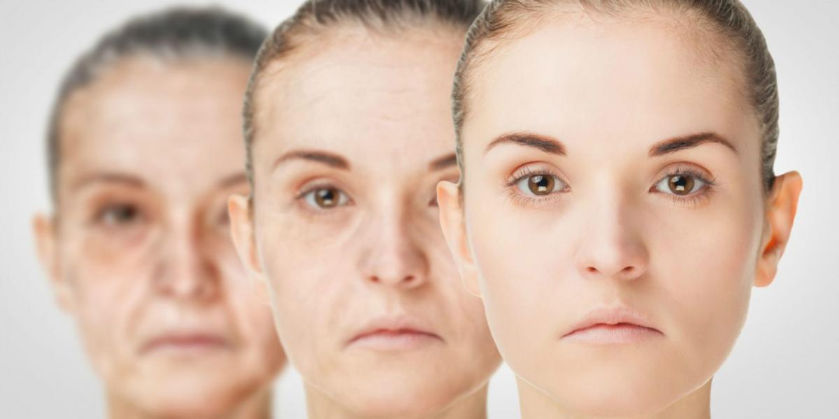 Лица девушки и женщины