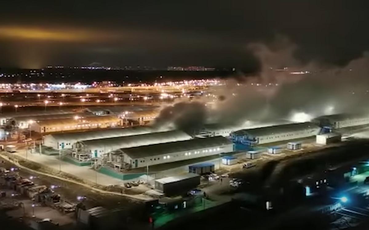 Взрыв на кислородной линии в больнице в Коммунарке