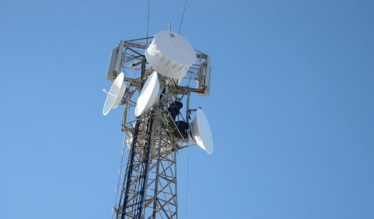 В Донецке подорвали базовую вышку сотовой связи