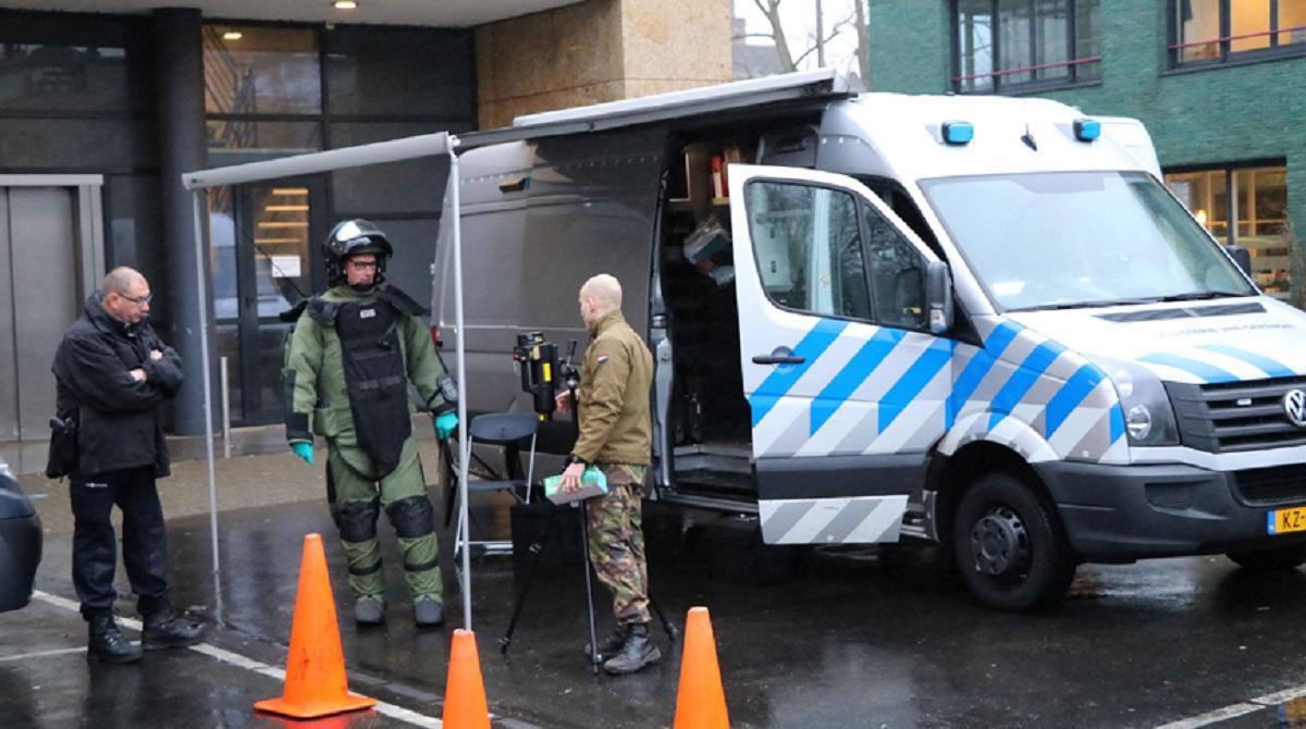 Взрыв в Нидерландах