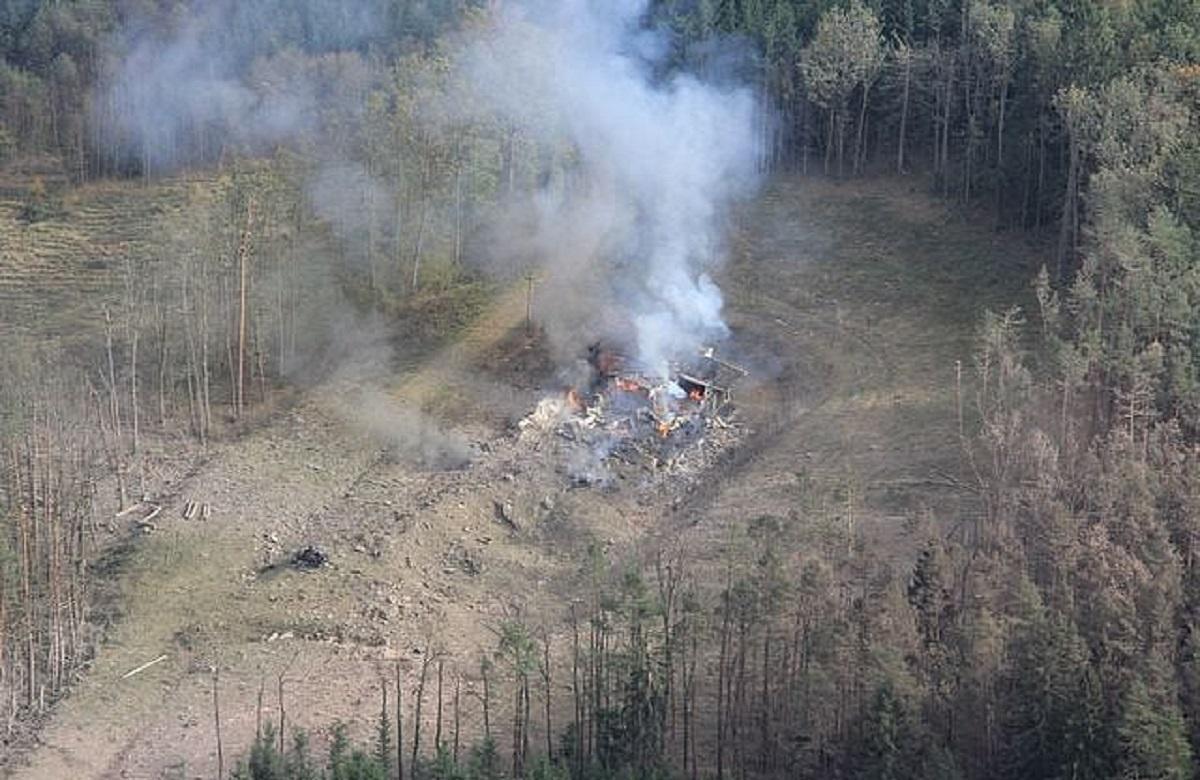 Взрыв во Врбетице