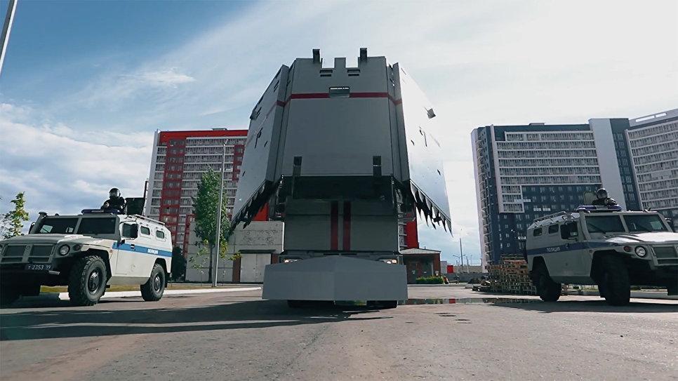 Росгвардия использует «Стену» с оружейными бойницами для усмирения агрессивных россиян