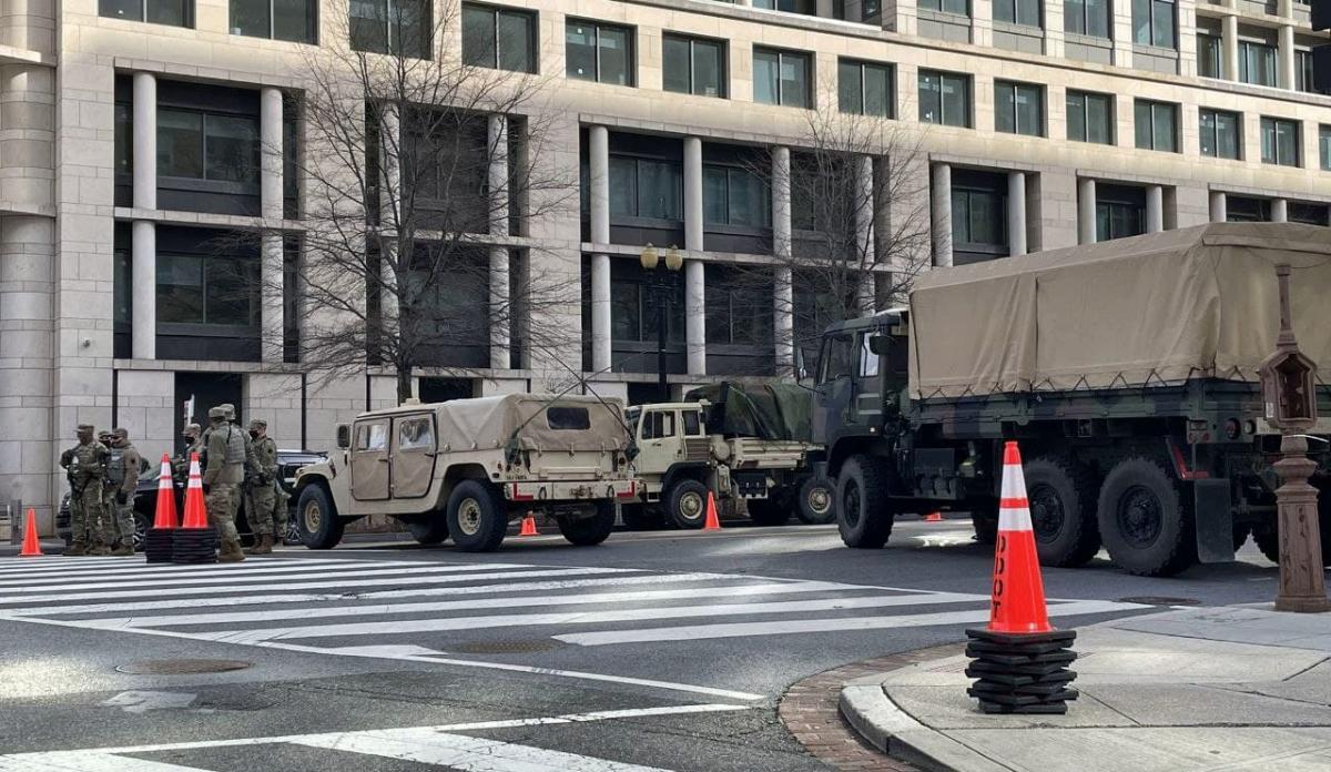 Блокпост в Вашингтоне