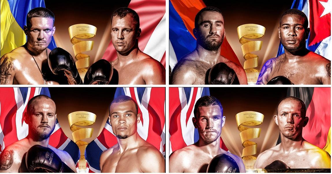 Всемирная боксерская суперсерия 2018, полуфинал: расписание, даты проведения всех боев, турнирная таблица, по каким каналам смотреть прямую трансляцию