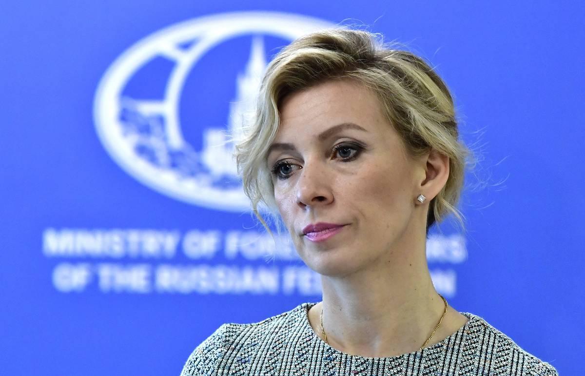 """Захарова: заявления Праги должны были """"перекрыть"""" данные о готовящемся перевороте в Минске"""