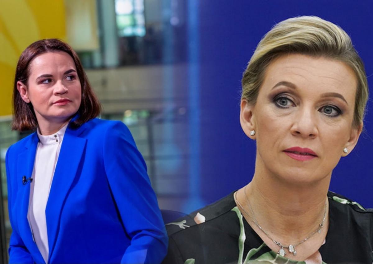 Захарова оценила заявление Тихановской по санкциям против белорусов