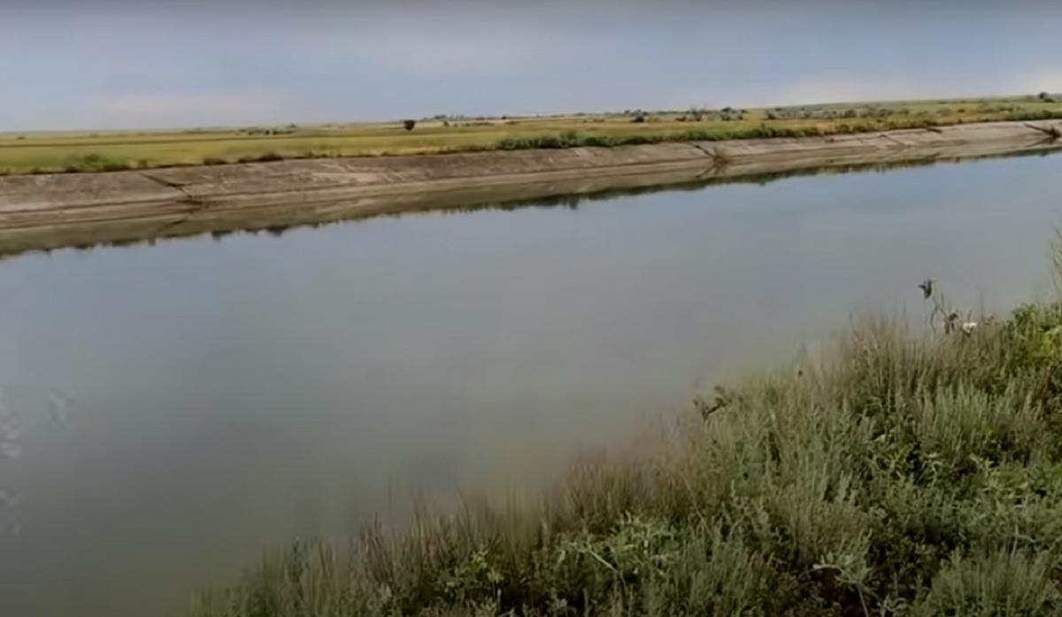 Вода в Северо-Крымском канале