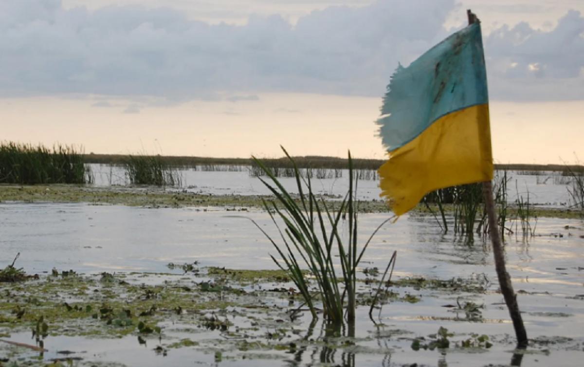 Потоп на Украине флаг