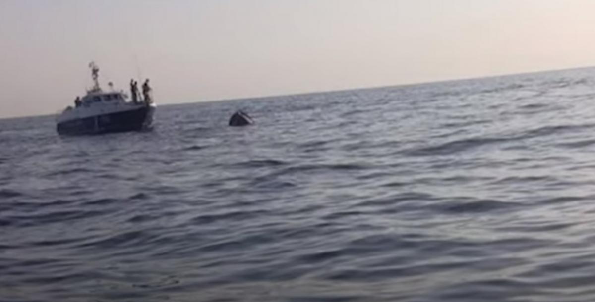 Севастополь затонуло судно