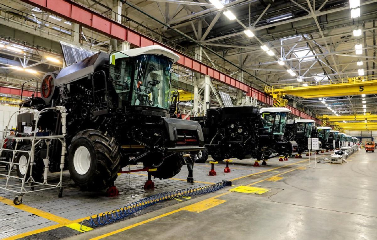 Тракторный завод в Ростове