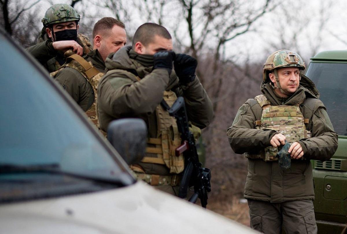 Зеленский в Донбассе