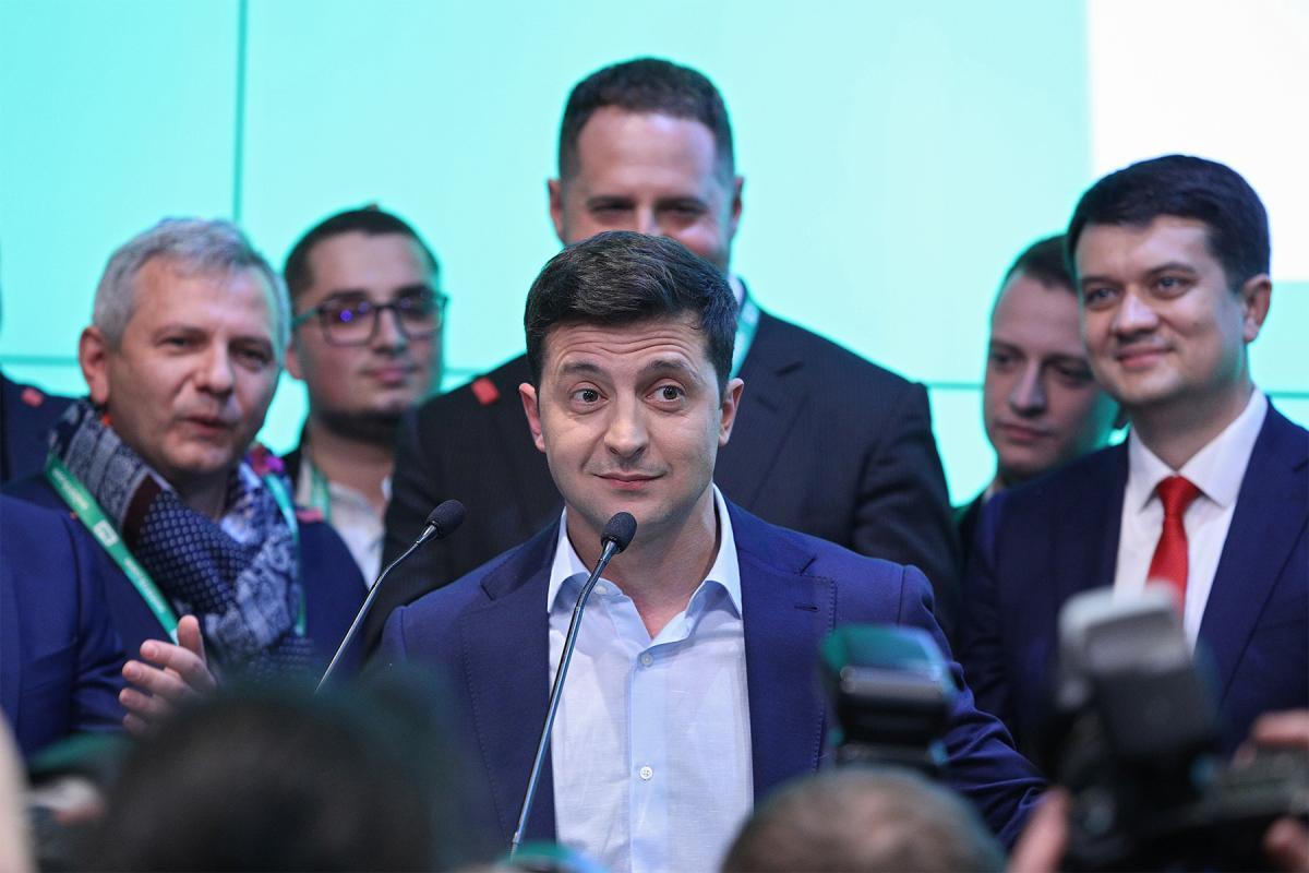 владимир зеленский президент команда выступление