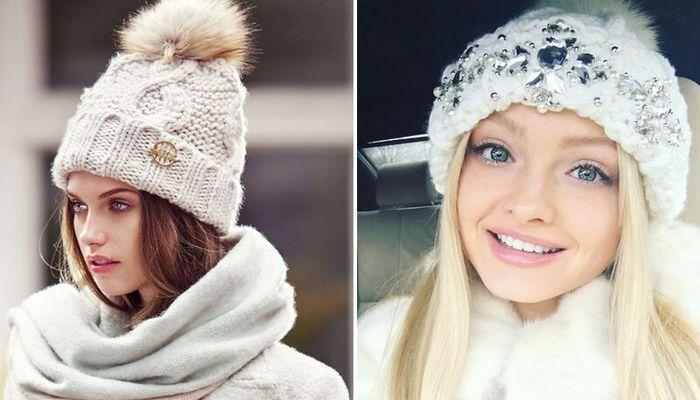 Женские шапки: актуальные тренды вязаных шапок 2019 года