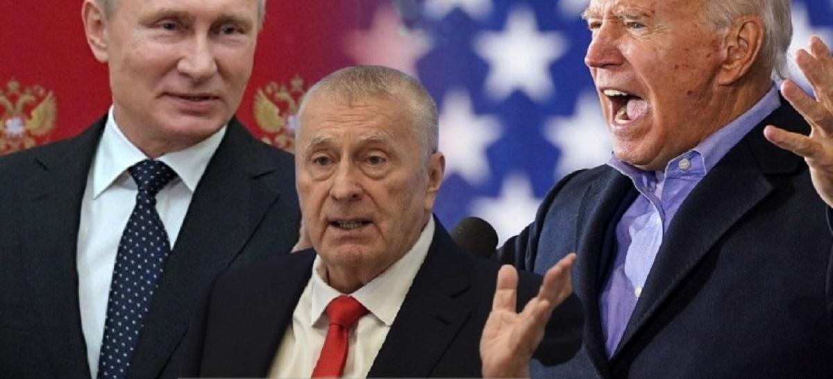 Жириновский о встрече Путина И байдена