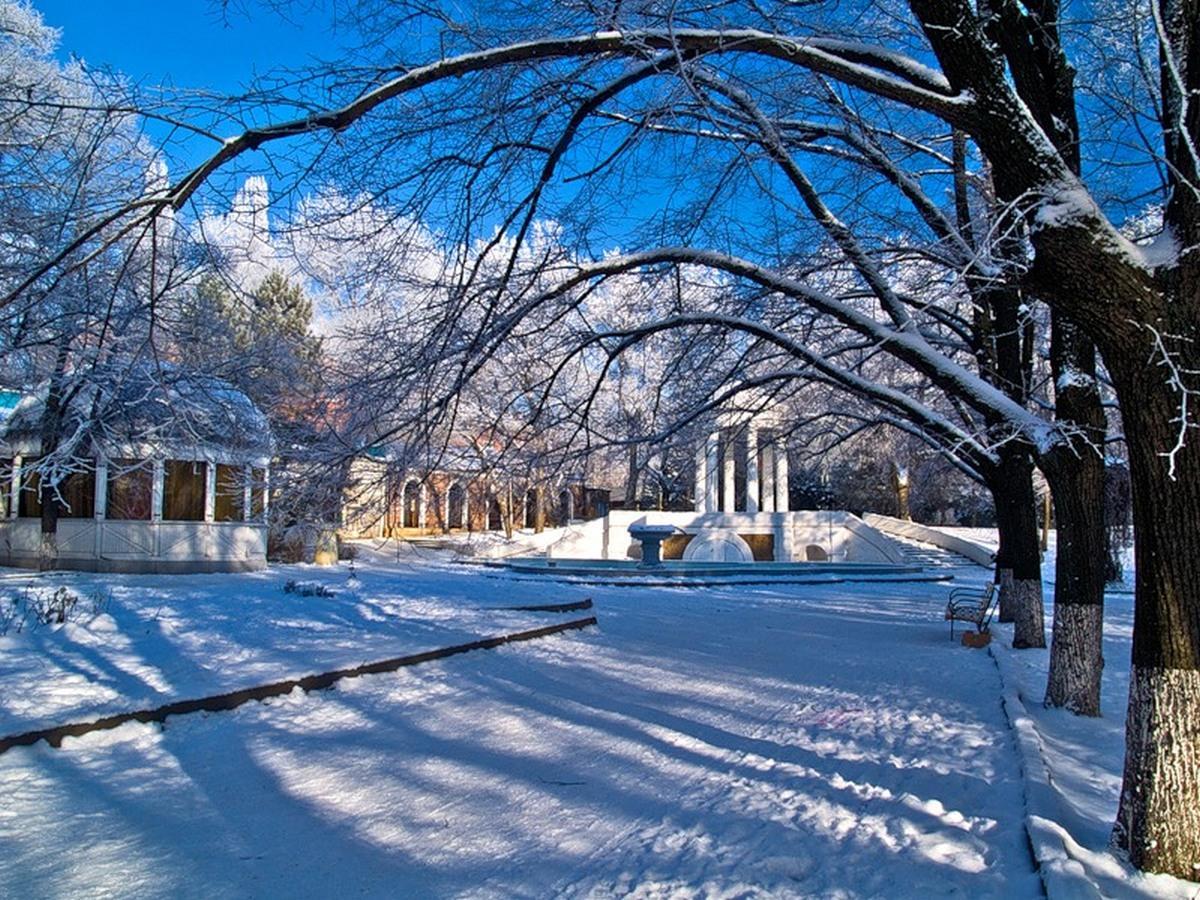 Зима Ростов
