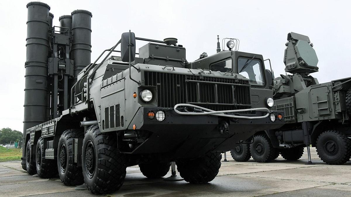 Российские ЗРК С-400 на учениях в Белоруссии